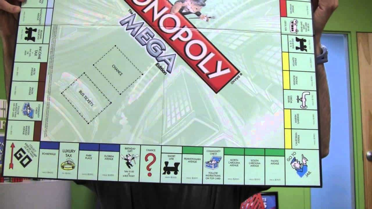 Monopoly: Mega Movers